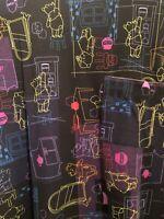 NWT LuLaRoe Disney Winnie the Pooh Carly Black Dress Size L Large 110858