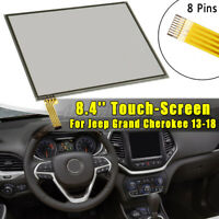 8.4'' inch Touch Screen Glass Digitizer For Uconnect 3C 8.4A VP3 & 8.4AN USA