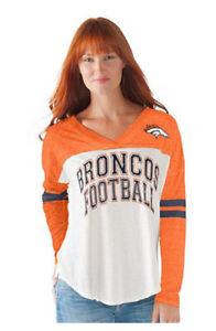 Officially Licensed NFL For Her Field Position L/S Tee~ Denver BRONCOS XL