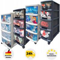 Schubladenregal Kinderregal Spielzeugbox Kommode mit Boxen Aufbewahrung Schrank