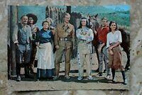 Kino Postkarte AK SCHATZ IM SILBERSEE 1962 Pierre Brice Lex Barker Götz George +