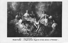 Malmaison l'impératrice Eugénie et ses dames d' honneur
