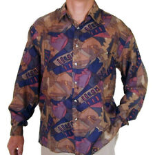 """New 100% Silk Shirts for Men S,M, L, Brand Name """"SURPRISE"""" NWT Print #113"""