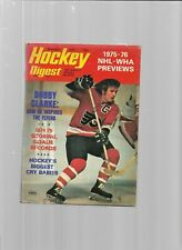 November 1975 Hockey Digest---Bobby Clarke  Fair