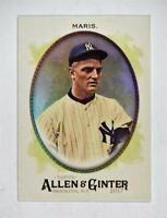 2017 Topps Allen and Ginter Hot Box Foil #259 Roger Maris - NM-MT