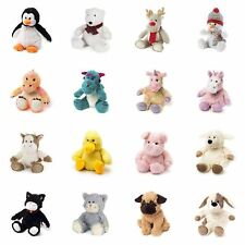 Warmies Mini Cozy Plush Microwavable Soft Toys, Lavender Scented, Various Styles