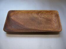 Schalen Tablets rechteckig 12x24,5cm Teller Schüssel  Akazienholz Mittelalter