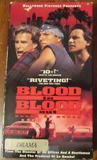 Blood In Blood Out VHS Damian Chapa Ben Bratt 1993