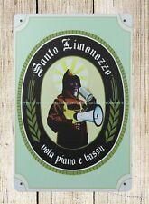 reproduction metal signs SANTO LIMANOZZO metal tin sign