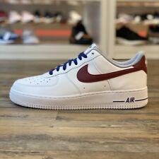Nike Air Force Prm ID Gr.47 Sneaker Schuhe weiß AQ3774 992 Leder Classic Retro