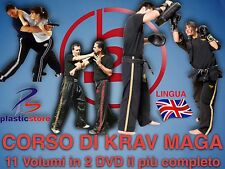 Krav Maga (2DVD) 11 Volumi - Self Defence - Difesa Personale - New 2018
