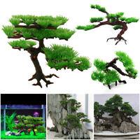 Simulation Plant Artificial Pine Tree Aquarium Decoration Fish Tank Ornament