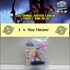 DC HEROCLIX JUSTICE LEAGUE - TRINITY WAR OP KIT - Roy Harper