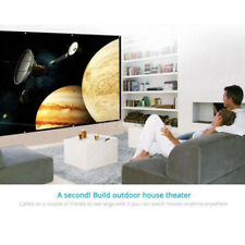 120'' Foldable Projector Screen 16:9 HD Home Cinema Theater Outdoor 3D Movies