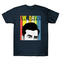 Ew, David Rose Retro Vintage Men's T-Shirt Short Sleeve Design Funny Cotton Tee
