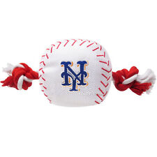 MLB New York Mets Dog Baseball Rope Toy