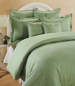 Bed Sheet Set Hotel Quality Egyptian Cotton (Pista Green)