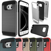 Shockproof Rubber Protective Hard Case For Samsung Galaxy S5 S6 S7 Edge S8+ Plus