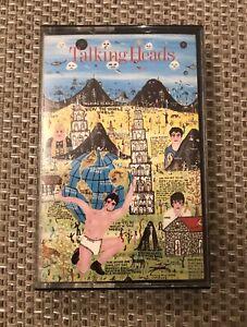 Talking Heads - Little Creatures Original 1985 Cassette Ex! Indie, White Tape