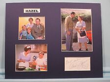 """Shirley Booth  in """"Hazel"""" and The autograph of Ann Jillian as Millie"""