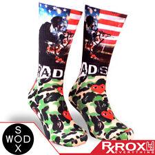 Bradshaw by WODSOX | Breathable Cushioned WOD Socks UK Size 7-11 | CrossFit