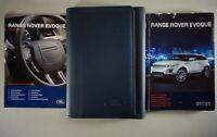 Bordmappe + Betriebsanleitung | Owner's manual + wallet Range Rover Evoque 2012