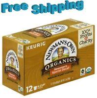 Newman's Own Organic Special Blend DECAF Medium Roast Coffee Keurig k-cups
