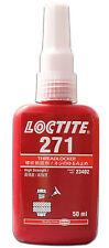 LOCTITE 271 HIGH STRENGTH - THREADLOCK - ALL METAL ADHESIVE -  GLUE 50 ML