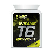 PURE NUTRITION T6 INSANE FAT BURNER PILL – EXTREME FAT BURNERS TABLETS