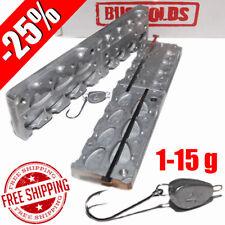 Fishing Sinker Mold -25% Aluminium Fishing Mold Lure making Lead Molds Fish Head