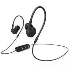 Hama Clip-On-Sport-Ohrhörer Run BT Schwarz Bluetooth Mikrofon NEU