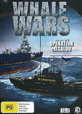 Whale Wars - Operation Migaloo - (Season 1) - Documentary / Violence - NEW DVD