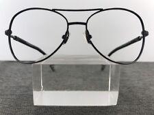 Lanvin Sunglasses LV2137 01 60-15-130 France Black Flex-Hinge Pilots D46