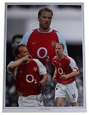 Dennis Bergkamp SIGNED autograph 16x12 HUGE photo Arsenal Football AFTAL & COA