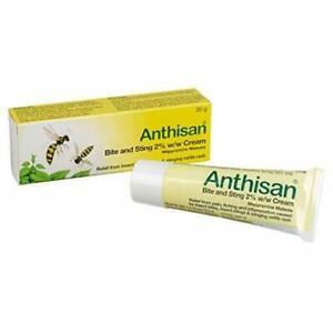 Anthisan Bite and Sting Cream, 20g Insect Sting Relief Antihistamine