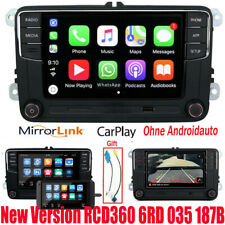 Car Stereo Radio RCD360 CarPlay GPS USB BT 187B For VW Tiguan Caddy Golf Polo CC
