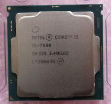 Intel Core i5-7500 3.40GHz SR335 Quad Core LGA1151 Kaby Lake-S 6MB Processor CPU