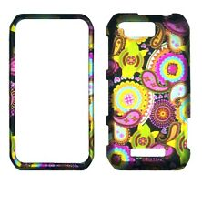 Multi Color Paisley  for Motorola Photon Q LTE XT897  Case Cover