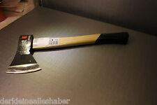 Schwarz  Küchenbeil Holzaxt Axt Holz Beil Holzstiel  600 g NEU