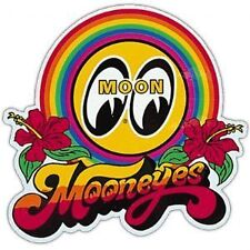 MOONEYES Rainbow Decal, Hot Rod, Custom, Chopper, Bobber