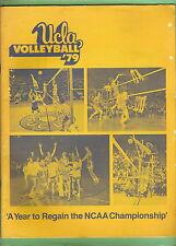 #T13.  UCLA SPORT SUMMARY - VOLLEYBALL 1979