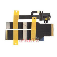Headphone Audio Jack Ribbon Flex Cable Replacement Parts for Apple iPad 3