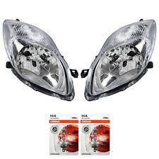 Scheinwerfer Set für Toyota Yaris XP9 Bj. 09-11 Facelift H4 inkl. OSRAM Lampen