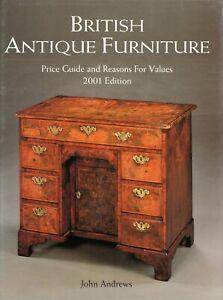 British Antique Furniture Types (1,250+ Photos) / Encyclopedia Book + Values