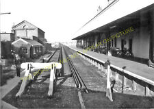 Seaford Railway Station Photo. Newhaven and Lewes Line. LB&SCR. (6)