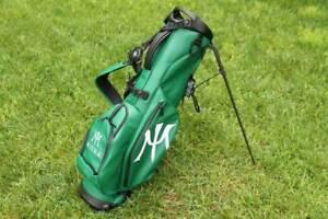 New Vessel VLX Miura Premium Lite 4 Way Stand Golf Bag - Green