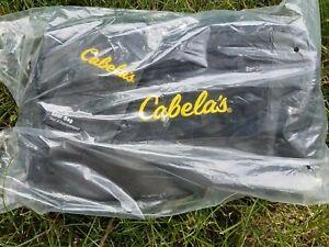 Cabelas - Catch All Gear Black Bag Hunting Fishing Range Duffle Luggage