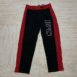 UFC Gym Black And Red Traning Pants Size 30 Made In The USA