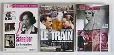 ROMY SCHNEIDER,3 dvd,3 grands films,le trio infernal,le train,la banquière,DVD
