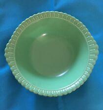 """Vintage Estate Sale Find Taylor Smith & Taylor Vistosa Green Serving Bowl 9"""""""